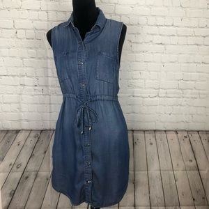 Max Jeans chambray dress size small